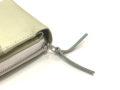 2種類の革を使って製作した財布